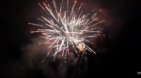 Tűzijáték Pilisszentivánon (HD)