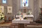 Újévi szentmise Pilisvörösvárról