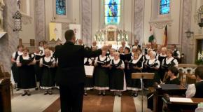 A Német Nemzetiségi Vegyeskórus koncertje