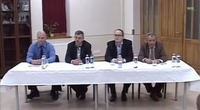 Polgármesterjelöltek vitája Piliscsabán