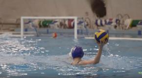 Az Oxigén úszósuli vízilabdacsapatának mérkőzése